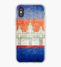 Cambodia - Vintage iPhone Case