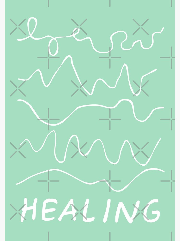 healing is not linear   healing squiggles  by craftordiy