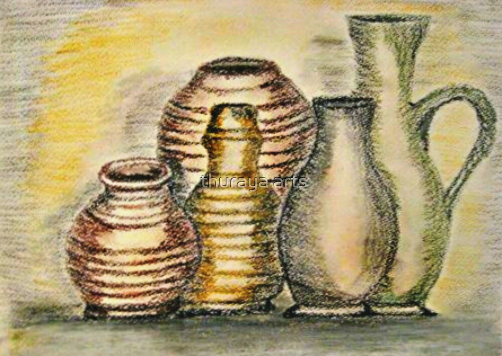 potteries by thuraya arts