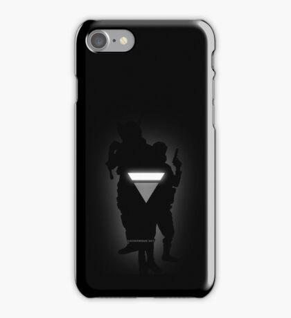 Anonymous 2012 shadow iPhone Case/Skin