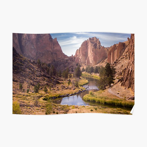 Smith Rock State Park (3 of 3) Poster