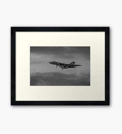 Vulcan XH558 Bomber Framed Print