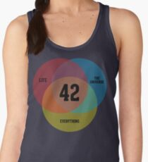 Venn Diagram: Life, the Universe & Everything Women's Tank Top