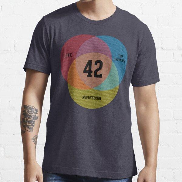 Venn Diagram: Life, the Universe & Everything Essential T-Shirt