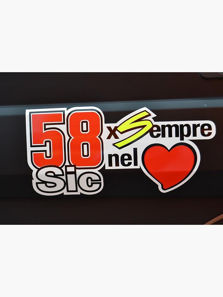 «Marco Simocelli était l'un des meilleurs pilotes du MtoGP» par Juto