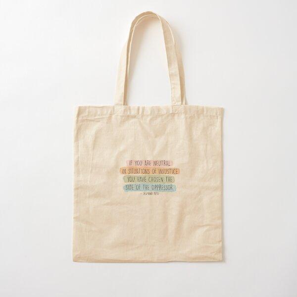 Desmond Tutu Cotton Tote Bag