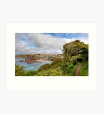 Hope Cove, Devon Art Print