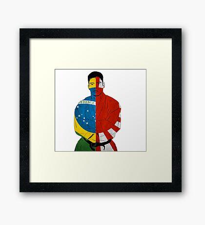 Machida Framed Print