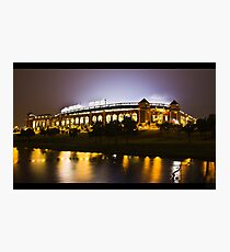 The Rangers Ballpark at Arlington, Texas.  Photographic Print