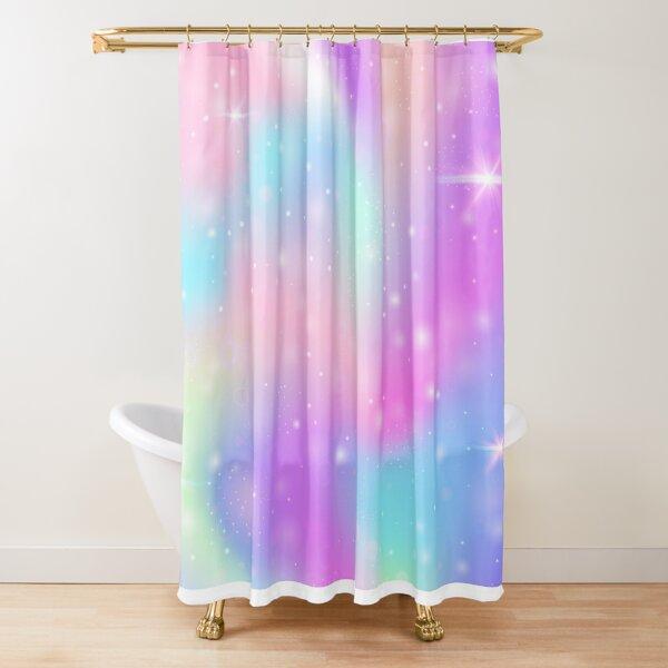 Pastel Unicorns At Play™ Shower Curtain