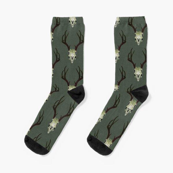 Plant Deer Socks