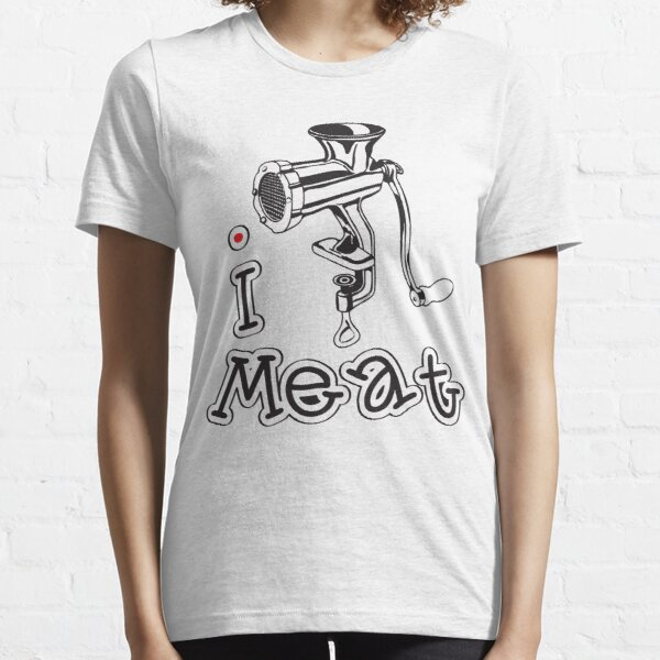 I LOVE MEAT (NON-VEGETARIAN) T-shirt Essential T-Shirt