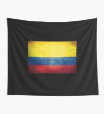 Colombia - Vintage Wall Tapestry