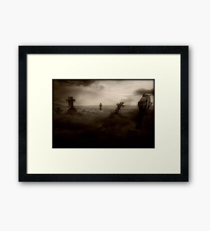 Dying to get out © Framed Print