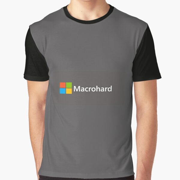 Macrohard Graphic T-Shirt