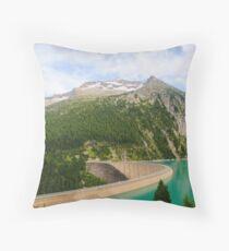 Austria, Zillertal High Alpine nature Park landscape Throw Pillow