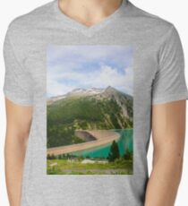Austria, Zillertal High Alpine nature Park landscape Mens V-Neck T-Shirt