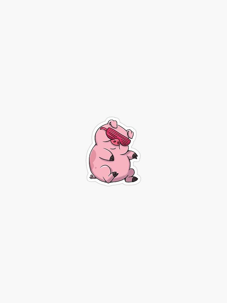 cool pig by eviebeadles