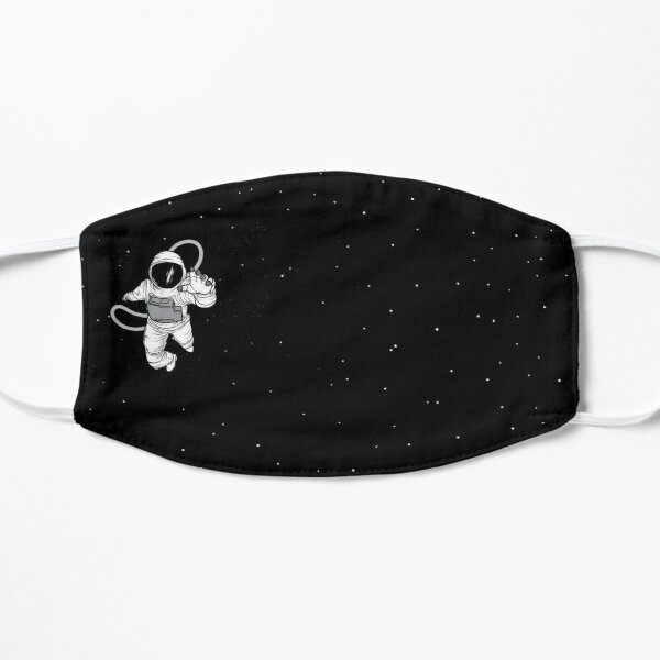 SPACEMAN  FACE MASK Flat Mask