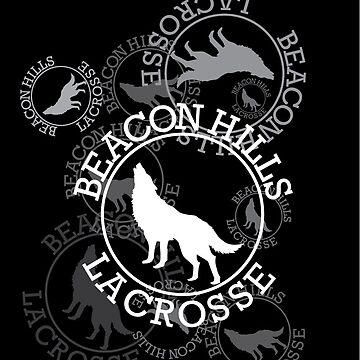 Beacon Hills Lacrosse Team Logo - V1 by kinxx