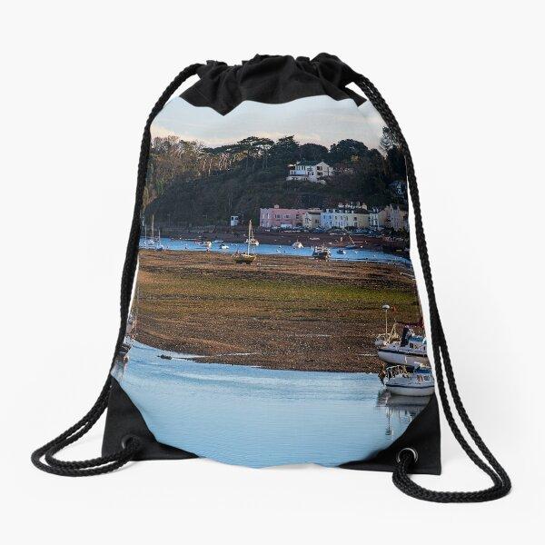 Shaldon at Low Tide Drawstring Bag