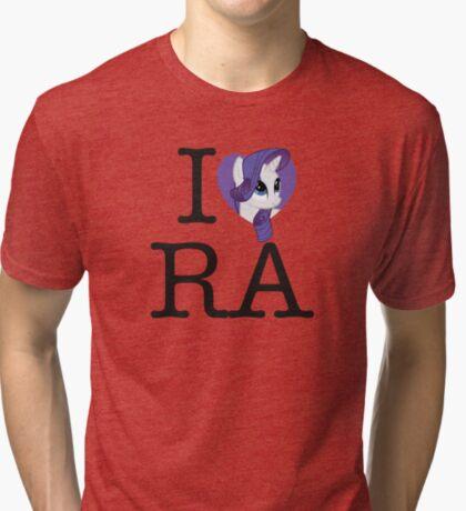 I <3 Rarity Tri-blend T-Shirt