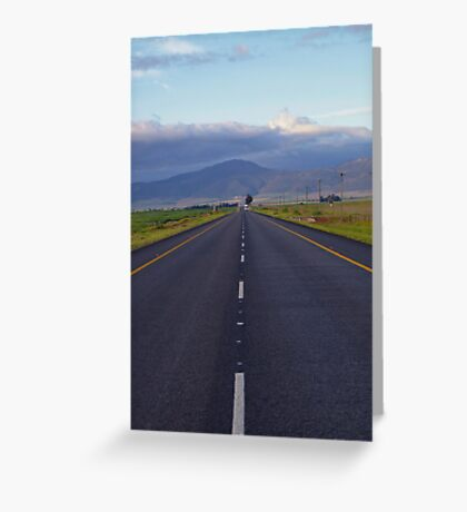 Life Is A Highway Greeting Card