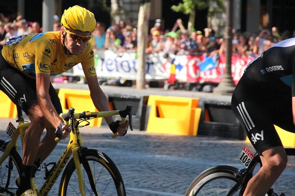 Bradley Wiggins - Tour de France 2012 in Paris by eggnog