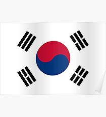 South Korea - Standard Poster