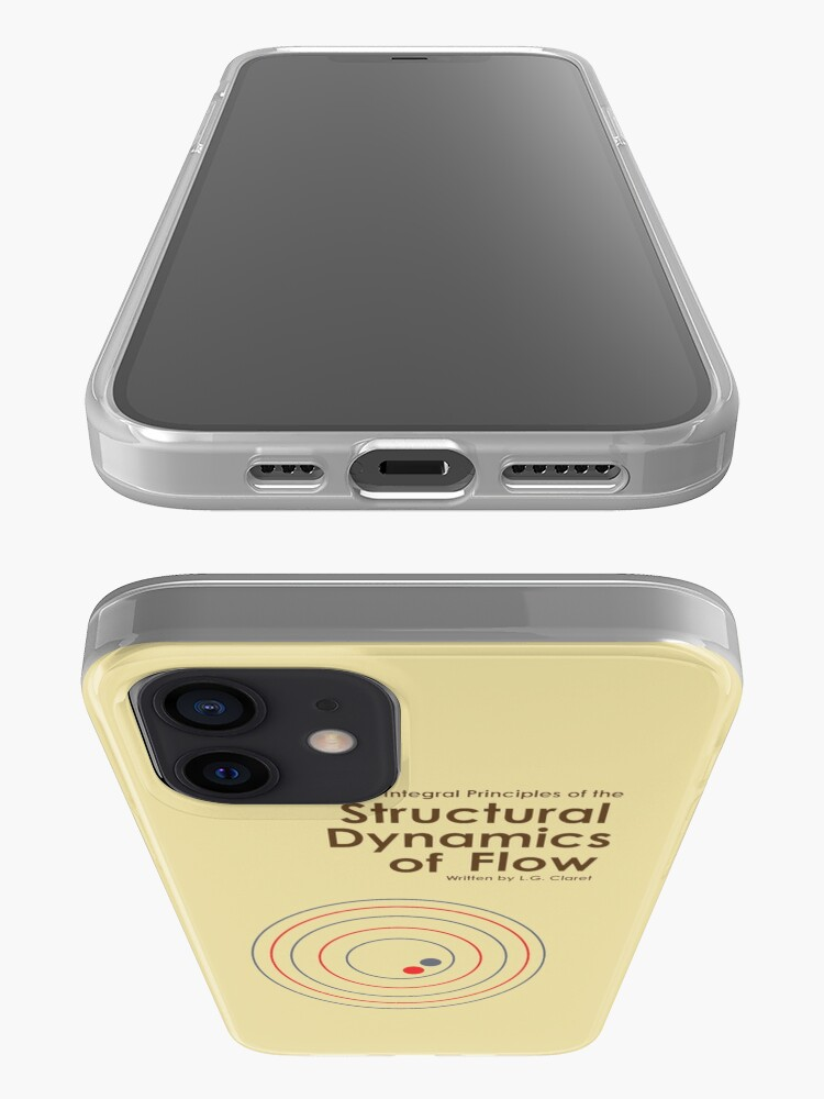 Alternate view of The Structural Dynamics of Flow iPhone Case & Cover