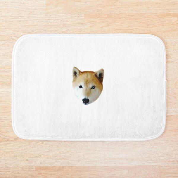 Cute Shiba Inu Puppy Bath Mat