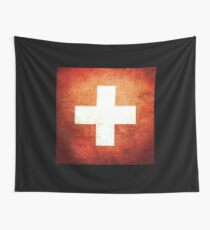 Switzerland - Vintage Wall Tapestry
