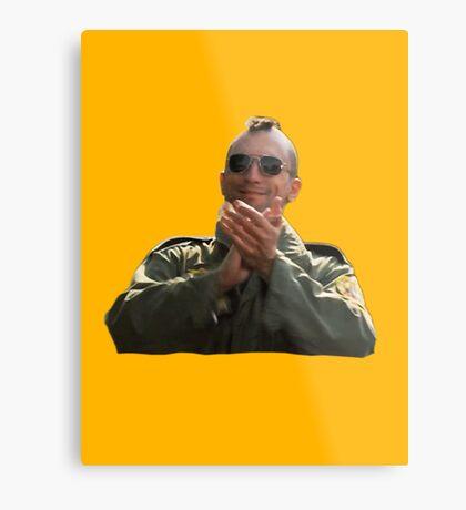 Taxi Driver - Aplausos Lámina metálica