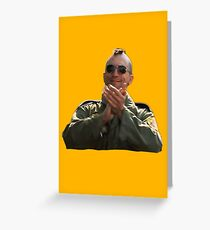 Taxi Driver - Applause Greeting Card