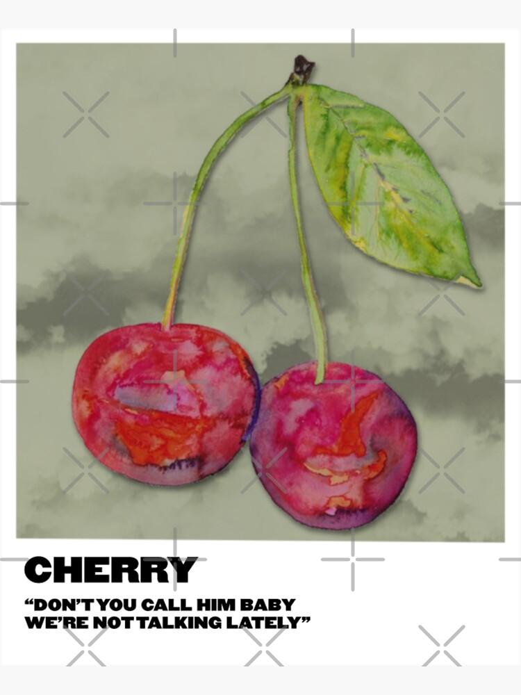 cherry polaroid by sydneymrejen1