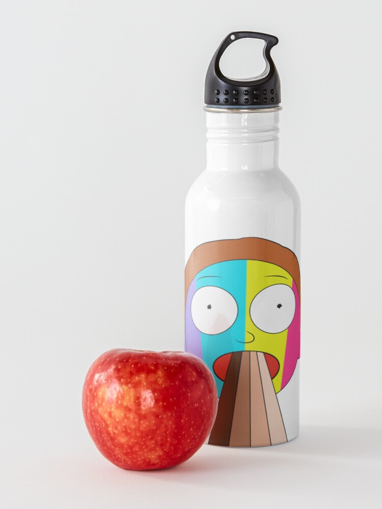 Alternate view of Inverted Rainbow Morty Water Bottle