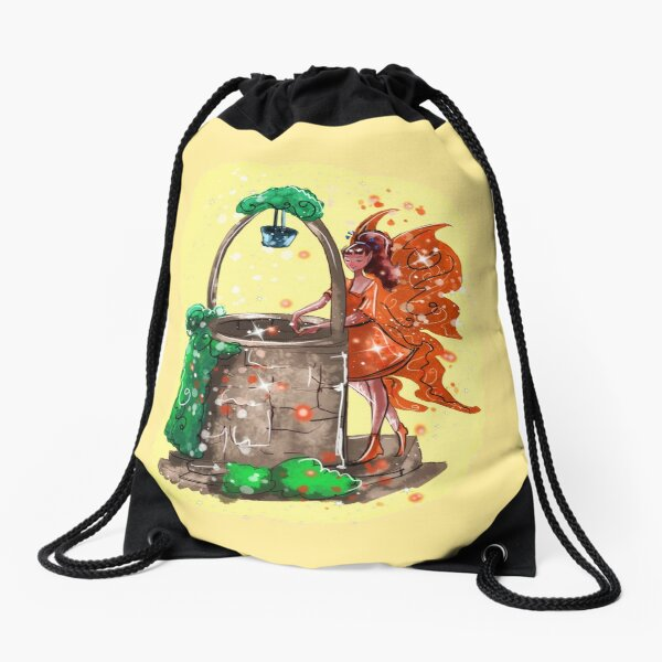Wishitora The Wishing Well Fairy™ Drawstring Bag