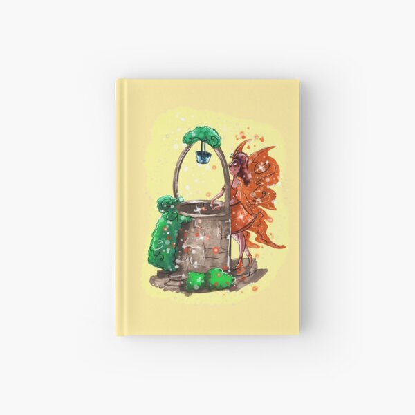 Wishitora The Wishing Well Fairy™ Hardcover Journal