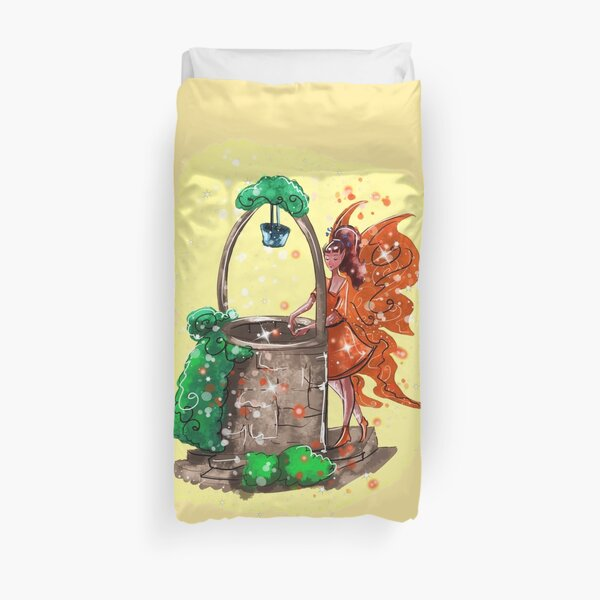 Wishitora The Wishing Well Fairy™ Duvet Cover