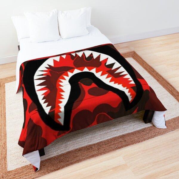 Bape camo shark Comforter