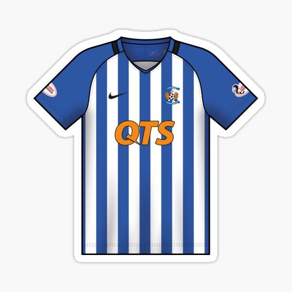 2018-19 Kilmarnock Home Shirt Sticker