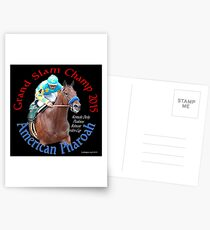 American Pharoah Grand Slam Champ 2015 Postcards