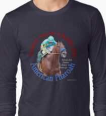 American Pharoah Grand Slam Champ 2015 Long Sleeve T-Shirt