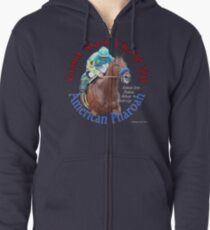American Pharoah Grand Slam Champ 2015 Zipped Hoodie