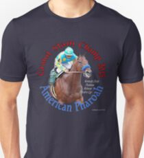 Amerikanischer Pharoah Grand Slam Champ 2015 Slim Fit T-Shirt
