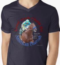 American Pharoah Grand Slam Champ 2015 Men's V-Neck T-Shirt