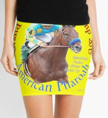 American Pharoah Grand Slam Champ 2015 Mini Skirt
