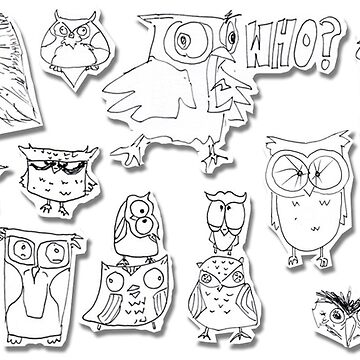 Owl Cutouts by tomasquinones
