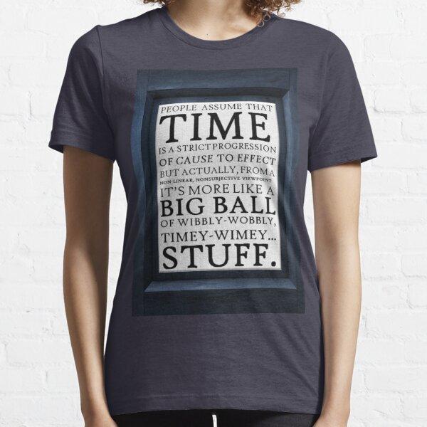 Wibbly-Wobbly, Timey-Wimey.. Stuff! Essential T-Shirt