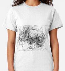 Crystal Shards Generative Art Classic T-Shirt
